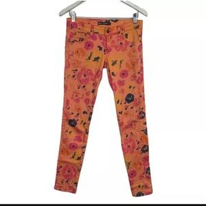 Otto Mode Womens Jeans Floral Size 6